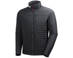 Helly Hansen Mens Crew Insulator Jacket 2021 - Ebony