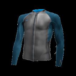 O'Neill Blueprint 2mm Front Zip Mens Wetsuit Jacket 2021 - Silver