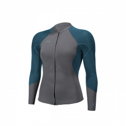 O'Neill Blueprint 2/1.5mm Womens Neoprene Jacket 2021 - Graphite