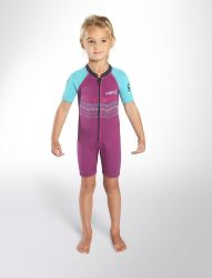 C-Skins 2mm Girls Shortie Toddlers Wetsuit 2021 / Pink