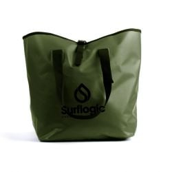Surflogic Waterproof Dry-Bucket Bag 50L - Green Olive