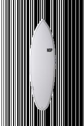 NSP Elements Tinder 6'4 Shortboard Surfboard - White