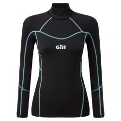 Gill Hydrophobe Womens Sailing Top 2021 - Black