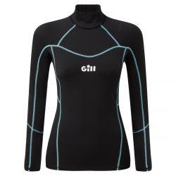 Gill Hydrophobe Womens Sailing Top 2021 - Black