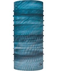Buff Coolnet UV+ Facial Covering in Keren Stone Blue
