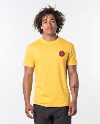 Rip Curl Passage Tee in Washed Yellow