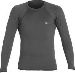 Xcel Insulate-X Long Sleeve Rash Vest - Graphite