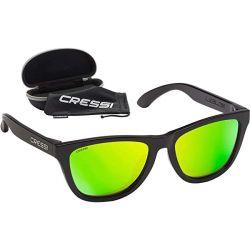 Cressi Rio Sunglasses 2021 - Black/Green