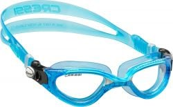 Cressi  Flash Clear Blue Swimming Googles 2021 - One Size - Front