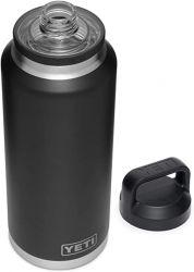 Yeti Rambler 64oz Bottle With Chug Cap - Black