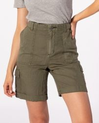 Rip Curl Women's Oasis Muse Cargo Short in Ivy Green