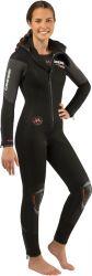 Cressi Facile Monopiece 8mm Womens Dive Wetsuit 2021 - Black