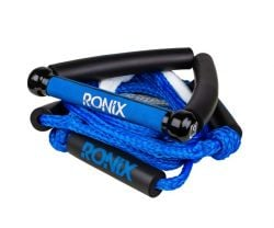 Ronix Bungee Surf Tow Rope & Handle - Blue/Silver