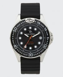 Rip Curl Classic Heat Bezel Watch - Black