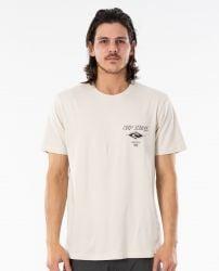 Rip Curl Fadeout Essential T-Shirt in Bone