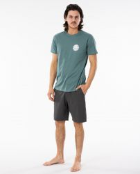 Rip Curl Wettie Essential T-Shirt in Bluestone