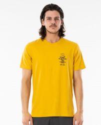 Rip Curl Search Essential T-Shirt - Mustard