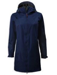 Musto Sardinia Womens Long Rain Jacket 2021 - Navy
