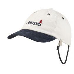 Musto Evo Original Crew Cap 2021 - Antique Sail White