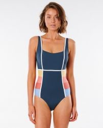 Rip Curl Golden State One Piece Swimsuit - Navy