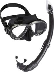 Cressi Perla + Mexico Mask and Snorkel Combo black