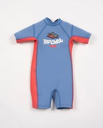 Rip Curl Omega 1.5mm Toddlers Shorty Wetsuit 2021 - Light Blue