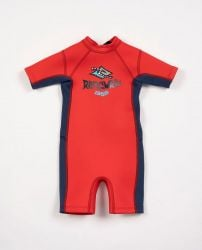 Rip Curl Omega 1.5mm Toddlers Shorty Wetsuit 2021 - Neon Red
