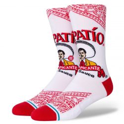 Stance Tapatio Socks - White
