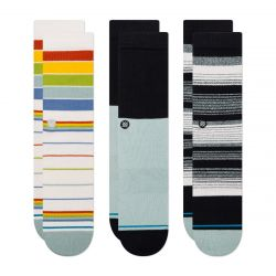 Stance Badwater 3 Pack Socks - Multi