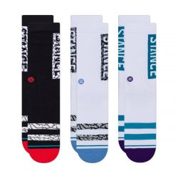Stance The OG 3 Pack Socks - Multi
