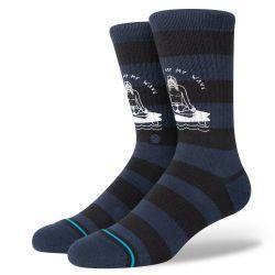 Stance Stay Off Socks - Navy
