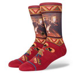 Stance Really Tired Big Lebowski Socks - Red
