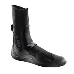 Xcel Axis 3mm Round Toe Boots 2021 - Black - Front