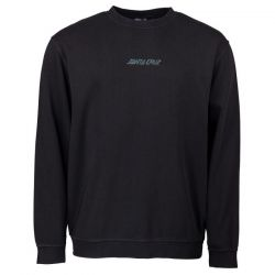 Santa Cruz Classic Strip Crew - Black