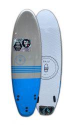 Baju Elite Series 6ft Minimal Surfboard 2021 - Blue/Yellow