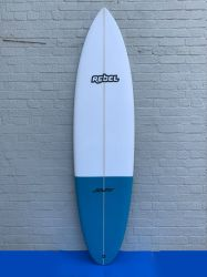 Rebel Bean Surfboard - Blue Tail Dip