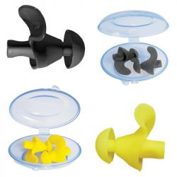 Hydramate SwimCell Ear Plugs 2 Pack 2021 - Yellow/Black - Full View