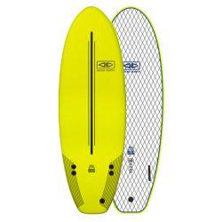 Ocean & Earth Bug 5ft 2 Foam Surfboard - Lime