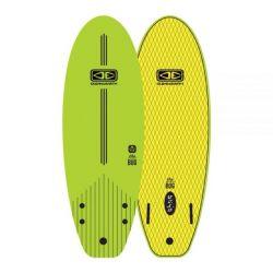 Ocean & Earth 5ft 6 Bug Mini Softboard in Lime