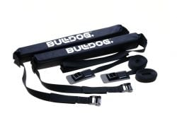 Bulldog Single Soft Surfboard Roof Rack - Black