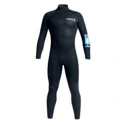 C Skins Adventure 5/4/3mm Mens Winter Wetsuit 2021 - Black - Front