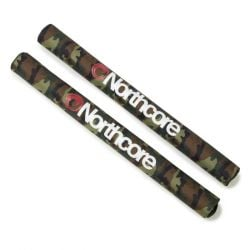 Northcore Wide Load Roof Bar Pads 2021 - Camo - Full View