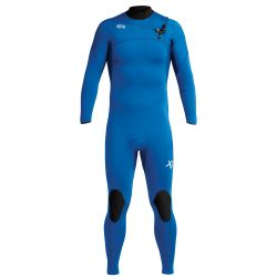 Xcel Comp 4/3mm Chest Zip Wetsuit 2020 - Faint Blue