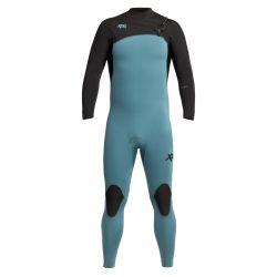 Xcel Comp 3/2mm Chest Zip Wetsuit 2021 - Black / Tinfoil
