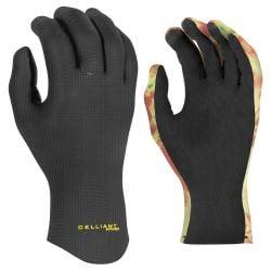 Xcel CompX 2mm 5 Finger Glove 2021 Black