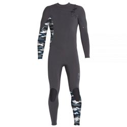 Xcel Comp X 2mm Chest Zip Wetsuit 2019 - Graphite/Snow Camo