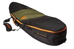 Creatures of Leisure Travel 6ft 7 Single Shortboard - Army/Orange