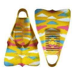 Dafin Zak Noyle Swim & Bodyboard Fins - Sunshine