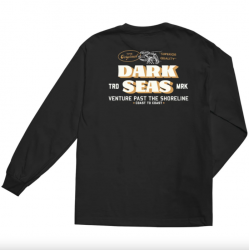 Dark Seas The Original Long Sleeve T Shirt - Black