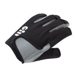 Gill Deckhand Short Finger Gloves 2021 - Black